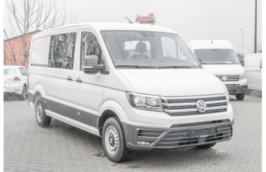 VW Crafter 35 Kasten Plus MR Trendline 2.0 TDI 7-Sitzer JAD288MA