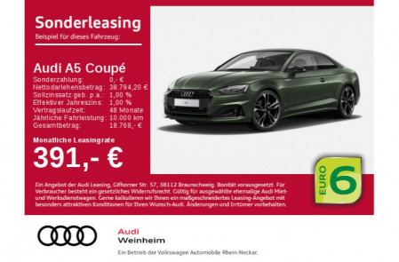 Audi A5 Coupé advanced 35 TFSI S tronic