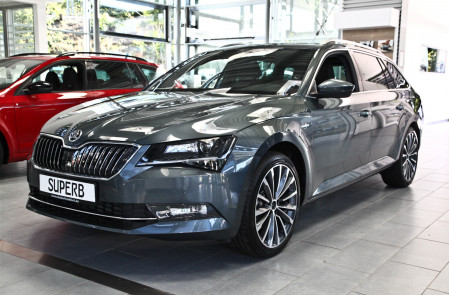 Skoda Superb Combi 4x4 2.0 TDI 190 PS
