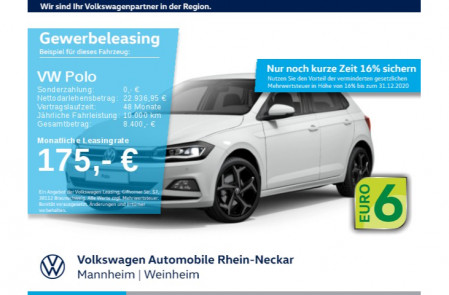 VW Polo Highline 1.0 TSI OPF LED Navi ACC DigiCockpit