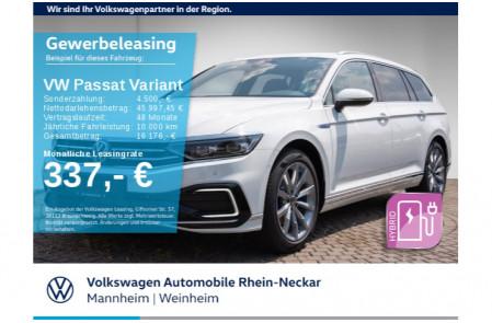 VW Passat Leasing